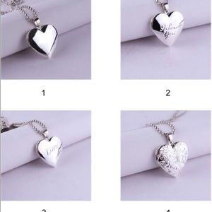 Jewelry - Valentine Lover Gift Heart Pendant Necklace